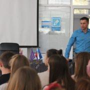 С юными спортсменами встретился вице-президент «Федерации черлидинга России»