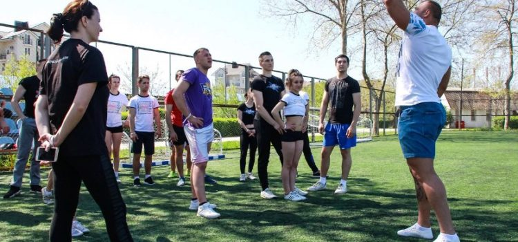 "Master-class ""I'm in Cheer"" from the multiple champion of Russia, Europe, Asia and the World Pavel Pukhov"
