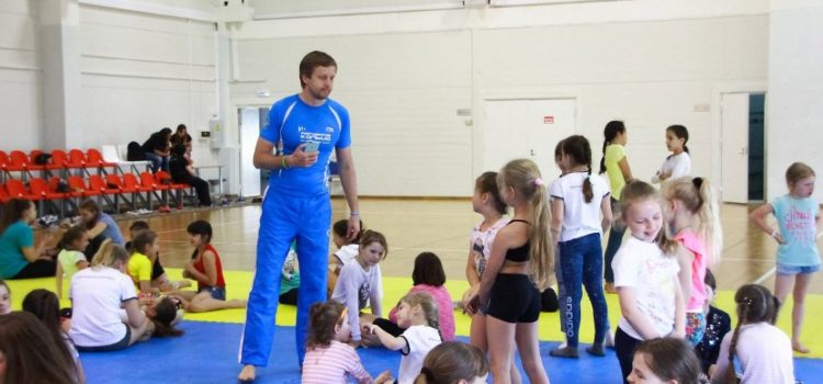 Master class from Roman Olkhovsky for kids