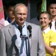 Артек — мечты сбываются! Президент РФ В.В.Путин на торжественном открытии!