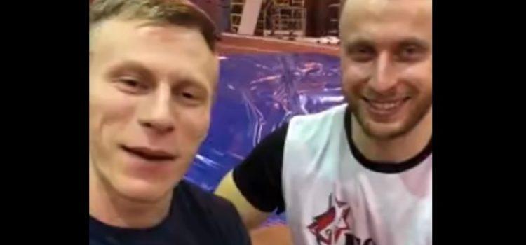 Привет от Андрея и Дмитрия участникам фестиваля