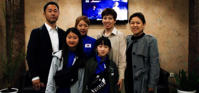 Athletes from Korea arrived!
