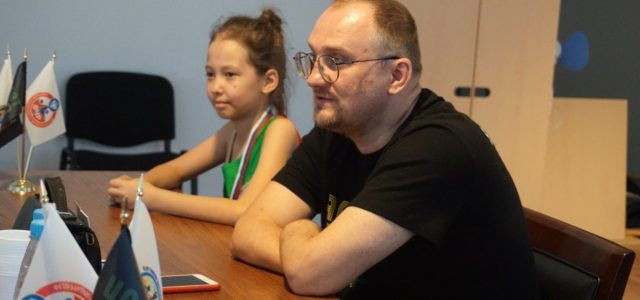 Within the framework of the festival there was a meeting with the Human of the Planet – Sergey Burlakov!