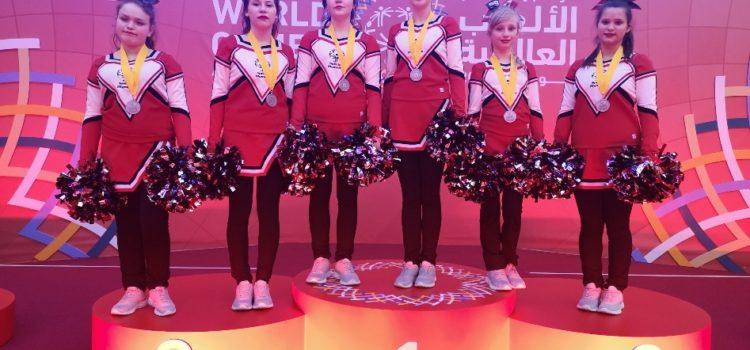 Победа!!! Завершились первые соревнования по чир спорту (чирлидингу) в рамках Всемирных летних Специальных Олимпийских игр Abu Dhabi2019!
