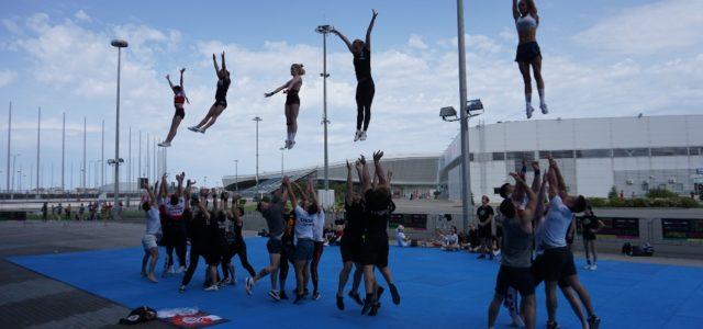 Сегодня на площадке фестиваляпроходит Stunt-fest!