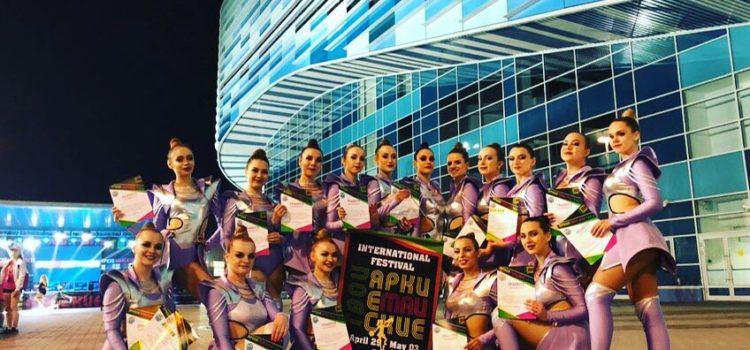Чирлидеры ЮРИУ РАНХиГС стали чемпионами международного фестиваля в Сочи