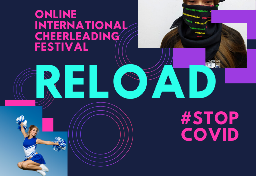 "Online International Cheerleading Festival ""Reload – stop COVID!"""